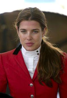 Charlotte Casiraghi Photo - Princess Charlotte Rides Horses