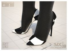 MX0008 S2 - Heel Shoes 120mm by jihemx.deviantart.com on @DeviantArt