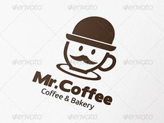 food logo Mister Coffee Logo  25+ #Food #logo Templates http://www.webdesign.org/25-food-logo-templates.22420.html