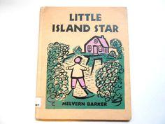 Little Island Star a Vintage Children's by lizandjaybooksnmore