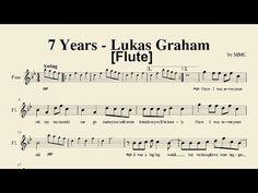 7 Years - Lukas Graham (Flute) [Sheet Music by MMC] - YouTube