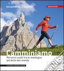 Incantevoli Dolomiti. Escursioni, nordic walking. Itinerari per tutti da percorrere in compagnia di Maurizio Fernetti edito da Artimedia-Valentina Trentini, 2012