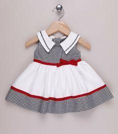 Como hacer un vestido de niña de 12 meses - Tutoriales de costura paso a paso