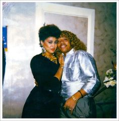 Phyllis Hyman & Rick James I just mentioned earlier how much I miss Rick James . . . I ache for Phyllis as well. Love the people you can for as long as you can . . .