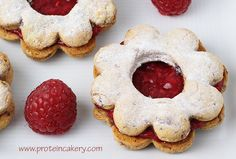 Quest Bar Linzer Cookies - Andréa's Protein Cakery