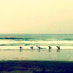 Surfer's paradise. Tofino.