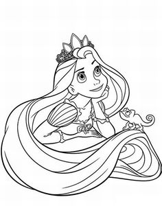 (^_^) Free Printable Disney Princess Coloring Pages For Kids