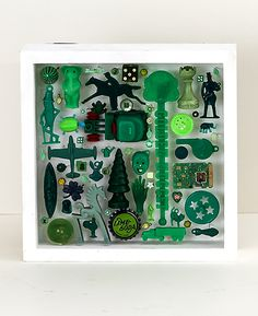 Robin Ayres – Box of Color/Green