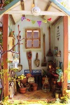 Imagen 9 - Jardín Blanchett es la realización de la imagen - COCO de tiempo casa de muñecas en miniatura - Yahoo! Blog