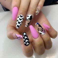 Nail art so pretty 💅😊  For nail art and more ->