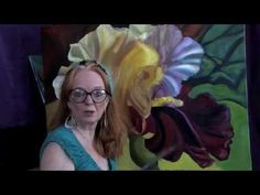 Painting Flowers How to Glaze in Oils - YouTube Paint Thinner, Painting Flowers, Glaze, My Arts, Youtube, Pictures, Oil, Videos, Enamel