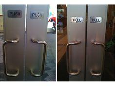 Classic. No, we don't need handlebars to push.