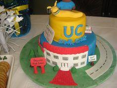 Another cute UC Santa Cruz graduation cake.