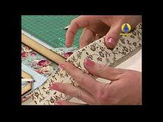 ▶ Sabor de Vida Artesanatos | Letras de Cartonagem por Heloísa Gimenes - 24 de Setembro de 2013 - YouTube