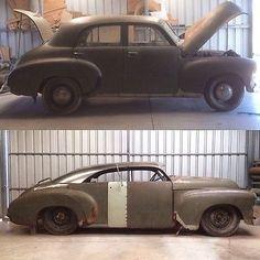 custom fj holden - Google Search Custom Rat Rods, Custom Cars, Australian Cars, Car Mods, Hot Rod Trucks, Pedal Cars, Hot Cars, Dream Cars, Classic Cars