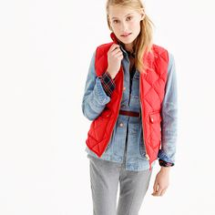 J.Crew - Excursion quilted down vest