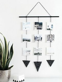 How cool is this photo wall hanging? 2019 How cool is this photo wall hanging? < The post How cool is this photo wall hanging? 2019 appeared first on House ideas. Photo Wall Hanging, Hanging Photos, Diy Hanging, Wall Photos, Hanging Polaroids, Ways To Hang Polaroids, Wall Hanging Decor, Wall Pictures, Hanging Planters