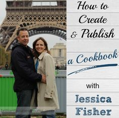 How to Create and Publish a Cookbook with Jessica Fisher.  Are you a food blogger or dream of becoming one?  Learn from Jessica Fisher of GoodCheapEats.com  She's published 3 successful cookbooks and has two large-traffic blogs.  Press play on the podcast player to hear her story, and how she gets it all done!  |  brilliantbusinessmoms.com