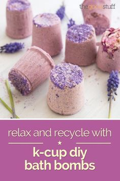 Relax and Recycle with K-Cup DIY Bath Bombs - thegoodstuff