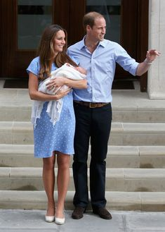 Kate Middleton Photos: Duke And Duchess Of Cambridge Leave The Lindo Wing With Their Newborn Son