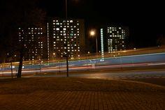 #city #light #long exposure #long exposure #night #nightlife #streets #towers