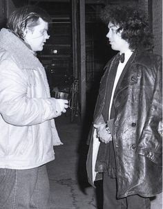 Tim Curry & Meatloaf Photographed by Sunny Bak