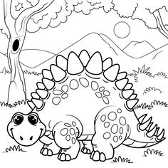 40 best dinosaur coloring pages images in 2016 dinosaur drawing coloring pages for kids. Black Bedroom Furniture Sets. Home Design Ideas