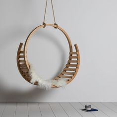 Seemingly floating in space, the graceful Amble Hanging Seat beckons for a moment to relax. A statement piece by Tom Raffield designed to elevate your mood as much as your interior space. Wood Furniture, Furniture Design, Furniture Stores, Furniture Repair, Upholstery Repair, Furniture Vintage, Furniture Upholstery, Classic Furniture, Furniture Projects