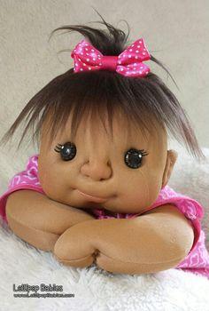 Soft sculpture doll, plush doll, lollipop babies, rag doll