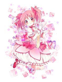 Madoka magica Anime Illustration