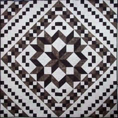 """I own a quilt shop and design my own patterns, so of course I couldn't give up the opportunity to design a quilt pattern for my newest word creation! I have named the pattern """"Jacob's Table."""" Now..."""