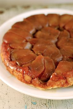 A Classic Tarte Tatin Recipe, Step-by-Step Maybe instead of my usual traditional pie for Thanksgiving...?