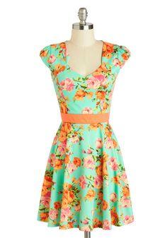 127 Flowers Dress by ModCloth