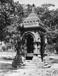 This fountain is one of two donated to the people of Sydney, by John Frazer in the This photograph taken in the shows the fountain in Hyde Park (Shared by the City of Sydney Archives, NSCA CRS v Sydney Australia, Western Australia, Parks In Sydney, Bubbler Pipe, Drinking Fountain, History Page, Hyde Park, Historical Pictures, Park City