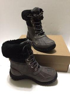 UGG Australia Women's ADIRONDACK II Boots Charcoal Black Gray Waterproof NEW 5 #UGGAustralia #ADIRONDACKII