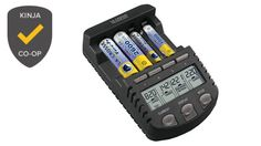 The Best Battery Charger (per LifeHacker): La Crosse Technology BC1000 Alpha Power Battery Charger