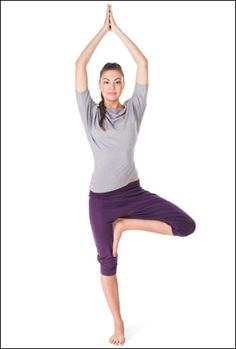 Tree pose for osteoporosis
