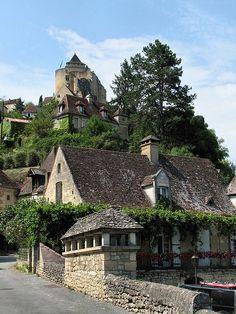 Château de Castelnaud la Chapelle, Aquitaine, France
