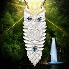 The Mighty 'Tane Te Waiora' (Tane the Vitaliser), the protector of the forests. Make an awesome gift. $65 AUS.