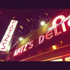 """I'll have what she's having."" #nyc #restaurants #katsdeli"