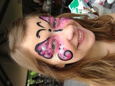Butterfly - Face Painting by Jennifer Van Dyke