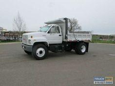 2000 GMC C6500 TopKick Dump Truck, CAT 3126 Diesel, Allison AT545 Auto Transmission, 67,905 Miles #truck