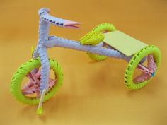 3D Origami - Baby Tricycle