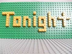 Lego video TobyMac Tonight!