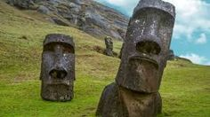 For two enigmatic cultures visit the Inca capital of Cuzco, venture further to the citadel of Machu Picchu, then jet off to Easter Island to see the island's legendary moai (stone carvings). Easter Island Moai, Easter Island Statues, Snorkel, Archaeological Finds, Strange Places, Mysterious Places, Ancient Mysteries, Ancient Ruins, Ancient Artifacts