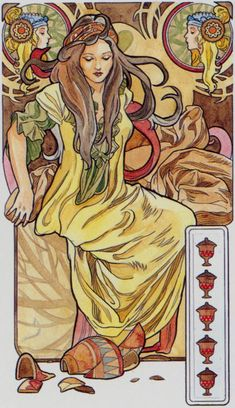 Kunst - Art: Vrouwen Jugendstil(stijl) *Women Art Nouveau(Style) ~van Antonella Castelli: Tarot-Kunst~