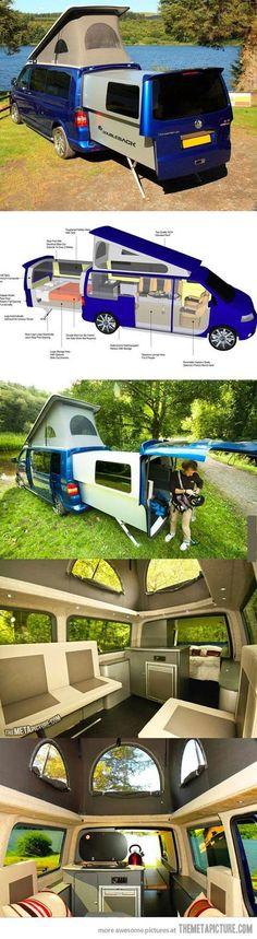 Camping Van VW. Just WOW. | Roadtrip Ideen und Tipps für das passende Gefährt für Dein neues Abenteuer