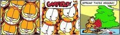 SPREAD GARFIELD. Garfield ♥ comic. Cat #cat gattino carino #garfield #comic Il meglio di.