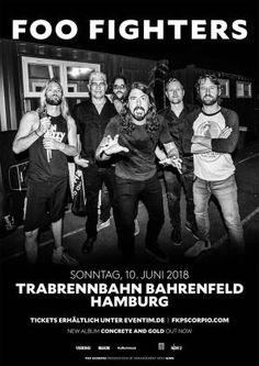 Foo Fighters Vorverkauf für Hamburg 2018!