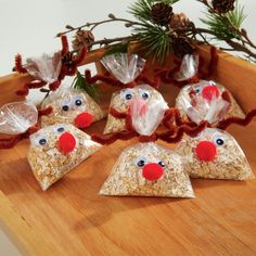 Don't forget Rudolph and the gang when you're setting out goodies for Santa this year. These swe...